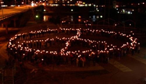3-17-03_Candlelight_Vigil